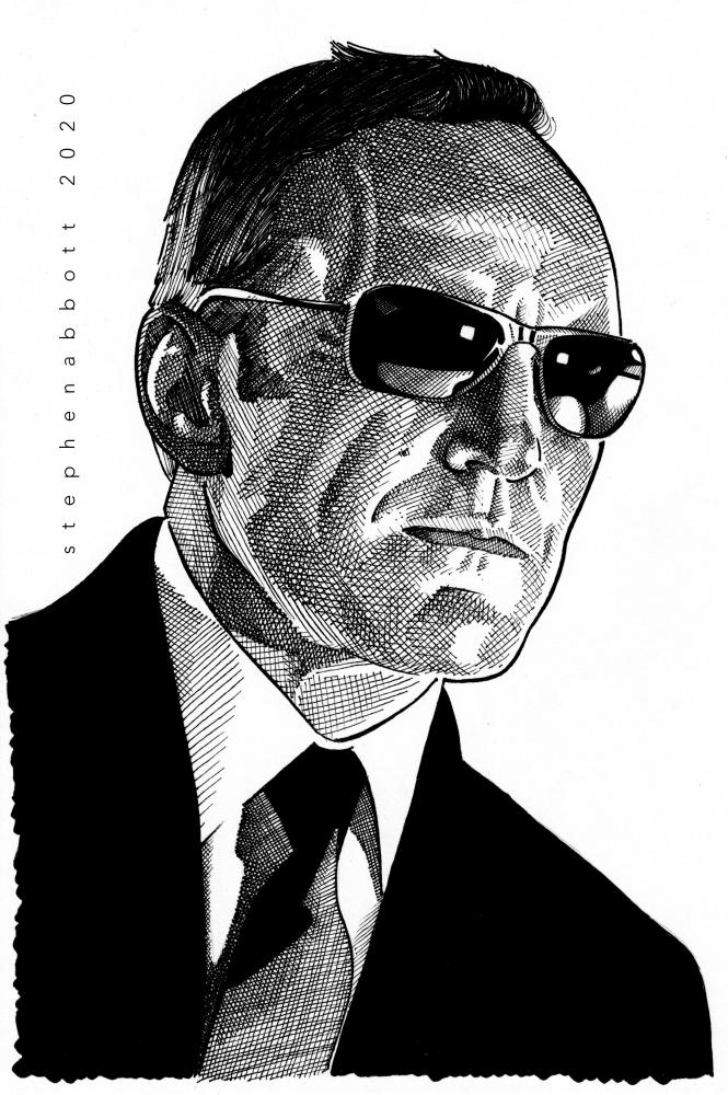 Clark Gregg por Stefanosart